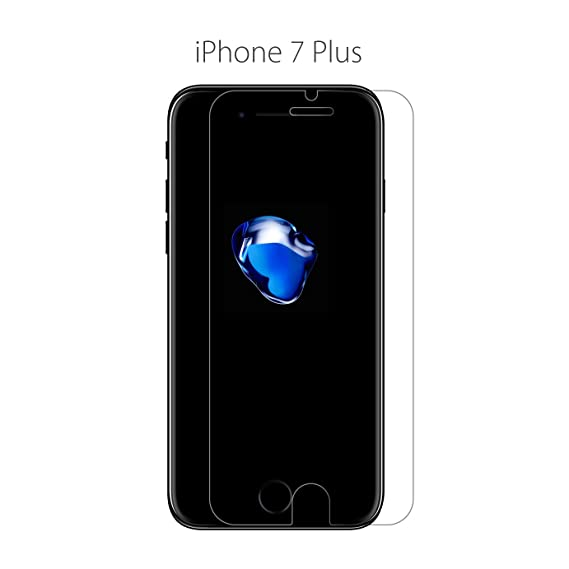 Amazon com: Tempered Glass For iPhone X 8 7 6 5 5S 5C SE 6