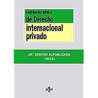 Legislación básica de Derecho Internacional privado (Derecho