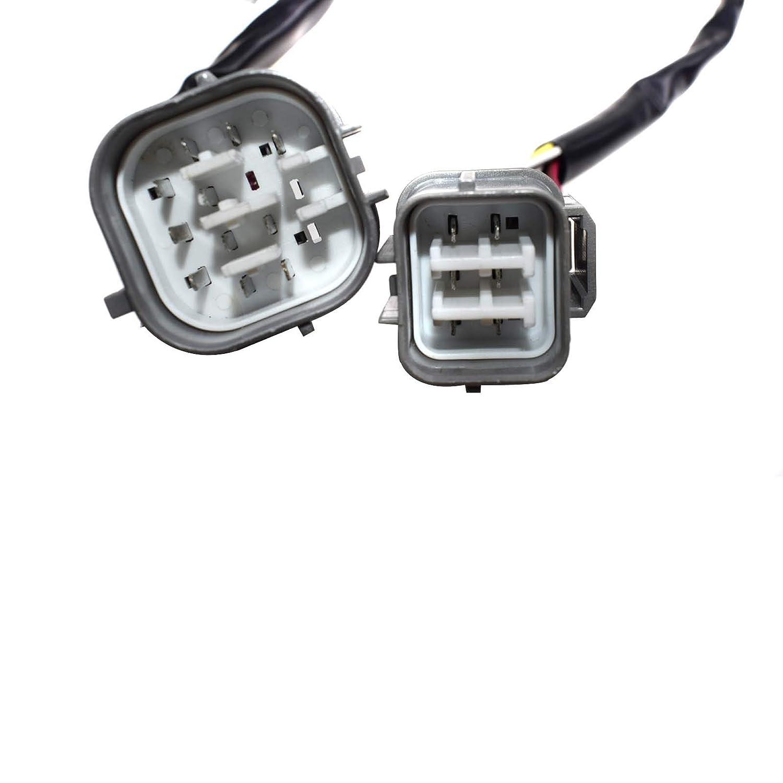 Fincos Forward Reverse Switch /& Lights Wiper Column Switch Turn Signal Switch Stalk for JCB 3CX 4CX 701//37702 701//52601