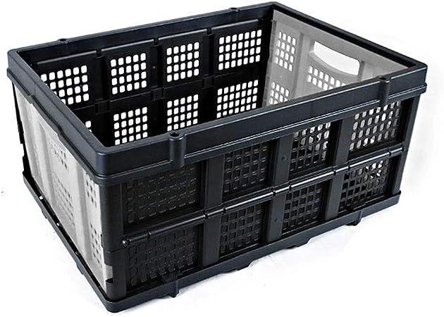 Qbylyf Cesto Cajas De Almacenamiento Plegables De Plástico Engrosado Plástico Plegable Portátil De La Cesta del Almacenaje Carrito Rectangular Transporte Cesta De Ropa Sucia: Amazon.es: Hogar