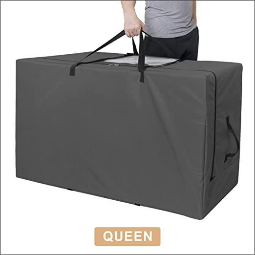 Milliard Carry Case for Tri-Fold Mattress 52 inches x 24.5 inches x 18 inches Fits up to 6 inch Full