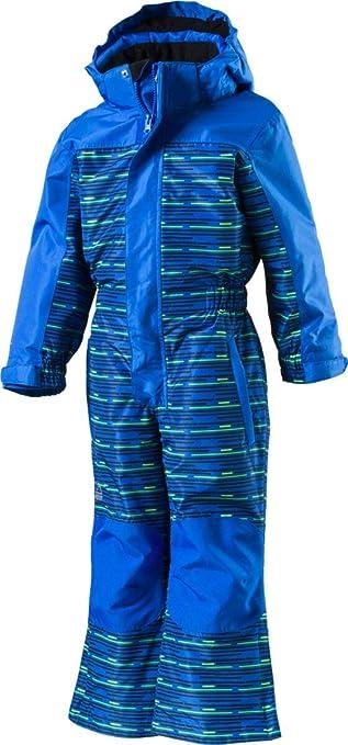 McKinley Mädchen Schneeanzug Timber Ray Navy Dark//AOP//Turquoise