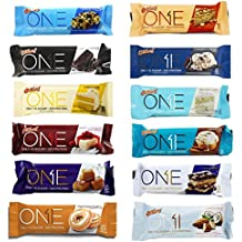 Oh Yeah! One Bar Super Variety 12 Count Variety Pack | Including New Salted Caramel