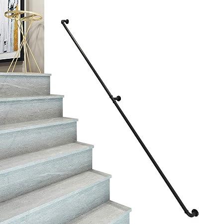 Antideslizante Barandilla de estilo europeo, barandilla de escalera montada en la pared, adecuada para villas, ático, bares, restaurante, cafetería, kit de barandilla de barandilla de escaleras: Amazon.es: Hogar