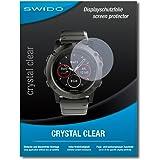 """4 x SWIDO® Pellicola Protettiva Garmin fenix 5X Screen Protector Pellicola Protettiva Film """"CrystalClear"""" invisibile"""