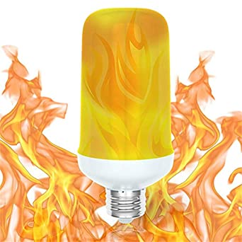 Modes Feu W E26 Effet Avec B22 Led7 4 Ampoule Flamme E27 À QreWdCBox