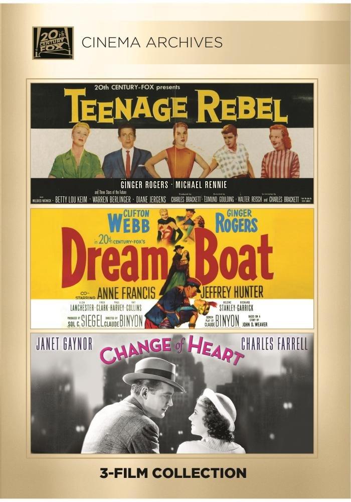 Teenage Rebel; Dreamboat; Change Of Heart by Twentieth Century Fox Film Corporation
