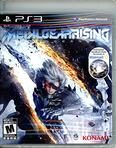 Metal Gear Rising: Revengeance w/ Instrumental Soundtrack CD (Metal Ps3)