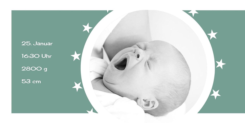 Kartenparadies Danksagung für Geburt Baby Dankeskarte a new new new star, hochwertige Danksagungskarte Baby inklusive Umschläge   100 Karten - (Format  215x105 mm) Farbe  Hellbraun B01N16WA65   Gewinnen Sie hoch geschätzt    Konzentrieren Sie sich auf  4ffcde