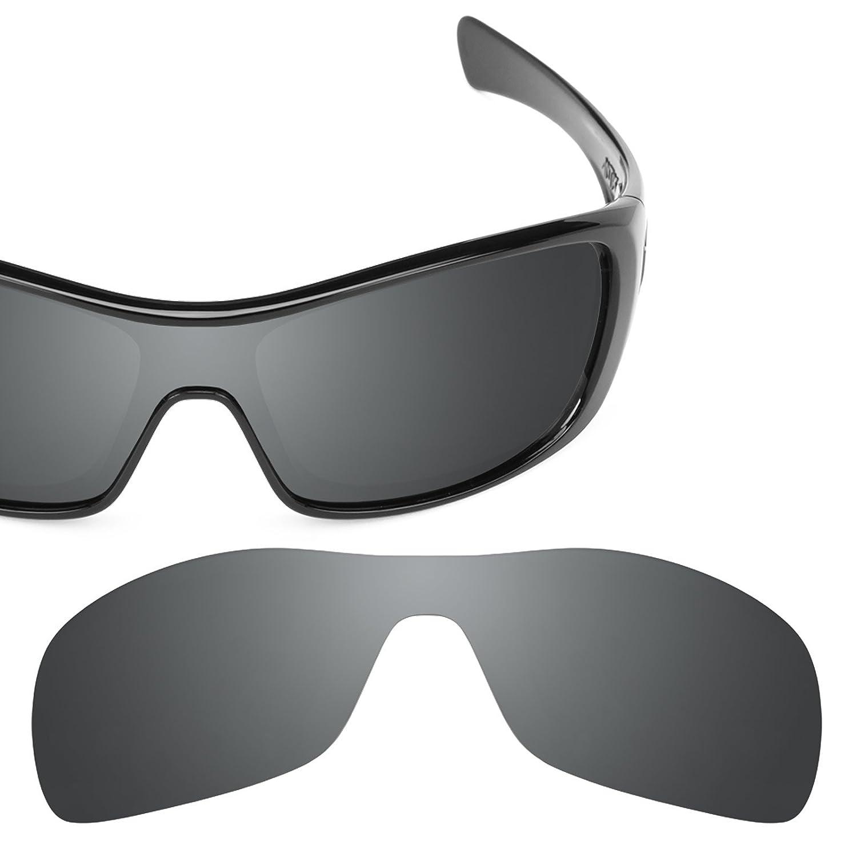 12baa7df224 Amazon.com  Revant Polarized Replacement Lenses for Oakley Antix Elite Black  Chrome MirrorShield  Sports   Outdoors