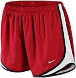 Nike Lady Tempo Running Shorts (Sport Red/White/Black/White,X Large)