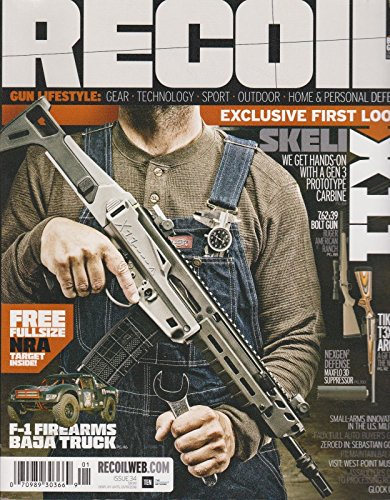 RECOIL MAGAZINE ISSUE 34 2018 - Flat Rate International Shipping