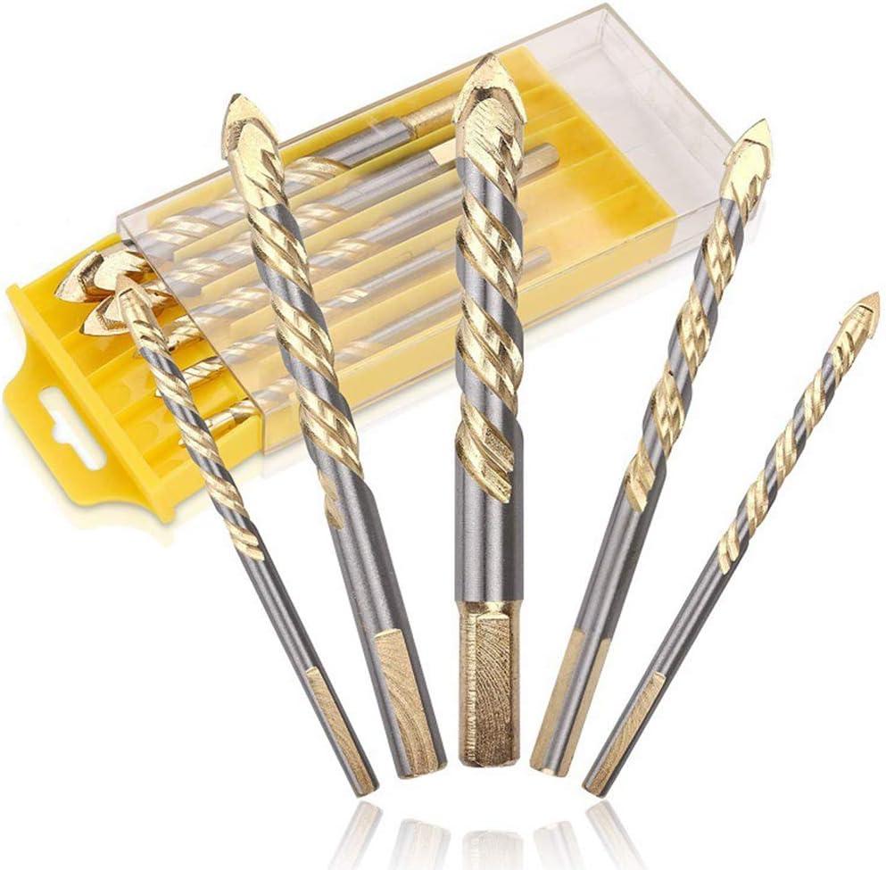 For Metal 2x Long HSS Twist 8mm Drill Bits Wood /& Plastic