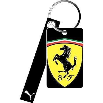 Puma llavero Ferrari Replica, black - Negro, 10 x 3,7 cm ...
