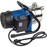 EXTRAUP Stainless Steel Electronic Portable Shallow Well Pump Booster Pump Lawn Sprinkling Pump Home Garden Water Pump…