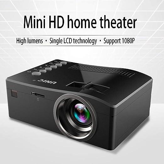HKYMBM Proyector Portátil, Mini Proyector LED Portátil De Mano HD ...