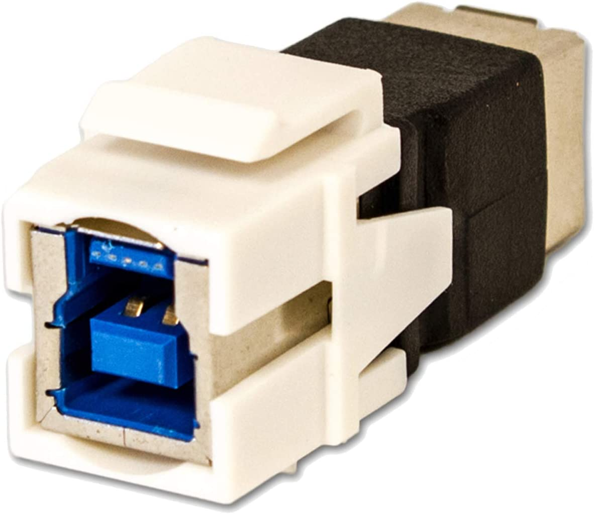 4x USB 3.0 A Female//F Snap-in Coupler Jack Insert for Keystone Wall Plate
