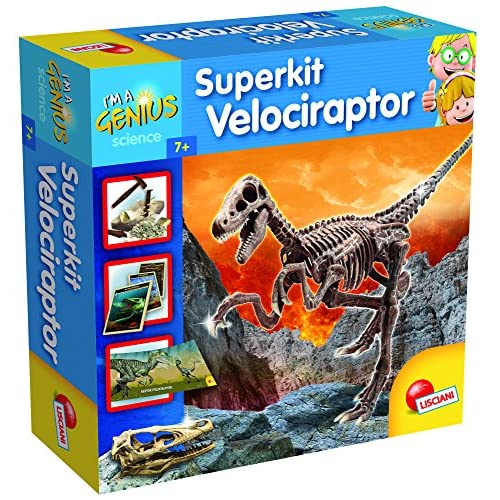 Lisciani Super Kit Velociraptor I'M A Genius, 56422