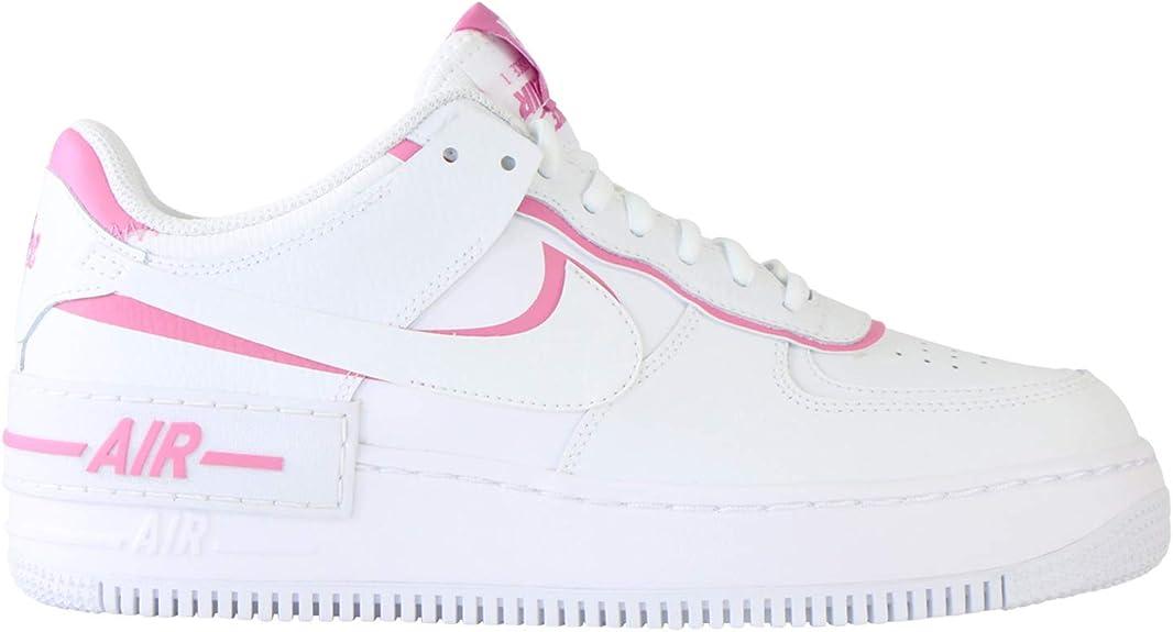 Nike Air Force 1 Shadow Trainers White Magic Flamingo
