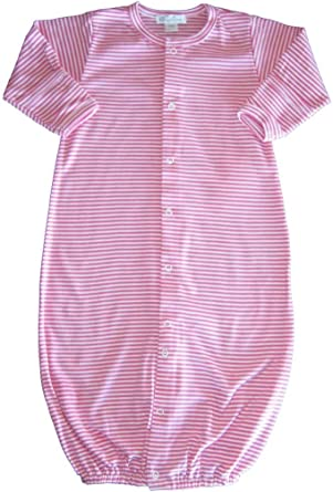 Kissy Kissy Baby Essentials Striped Convertible Gown