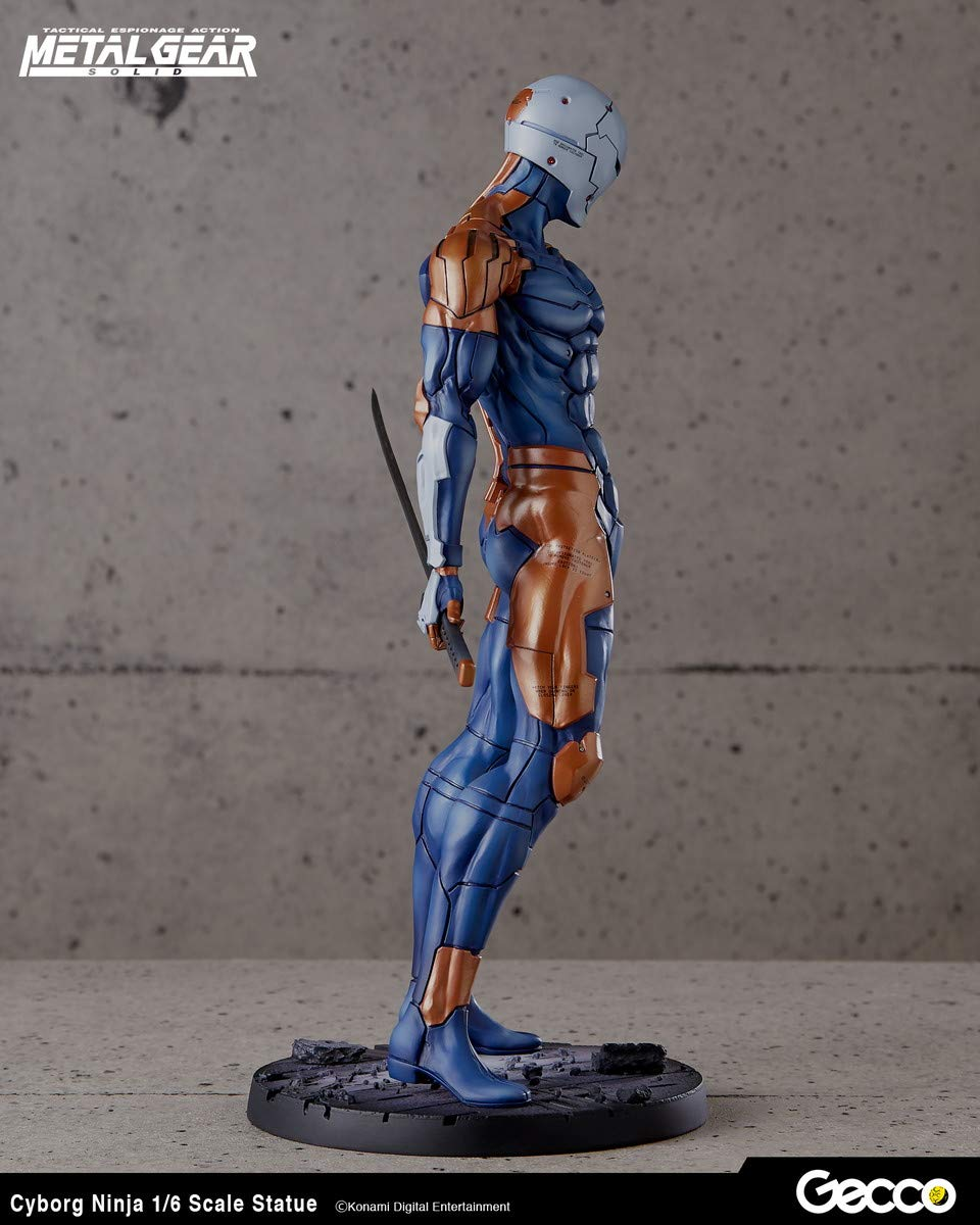 Amazon.com: GECCO Metal Gear Solid: Cyborg Ninja 1:6 Scale ...