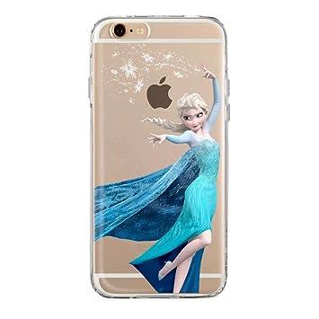Funda iPhone 6 Elsa Frozen Transparente Fundas para iphone 6