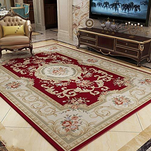 - KFEKDT European and American Luxury Living Room Rug Coffee Table Classical Nordic Simple European Style Bedroom Rug A5 160x230CM