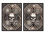 100 Dead Man's Hand Deck Protectors Legion Supplies Matte Finish Sleeves 2-Packs - Standard Magic the Gathering Size