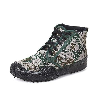 KMJBS Zapatos de Hombre/GAO Bang Camuflaje Zapatos Hombres Y Mujeres Estudiantes Zapatillas De Entrenamiento
