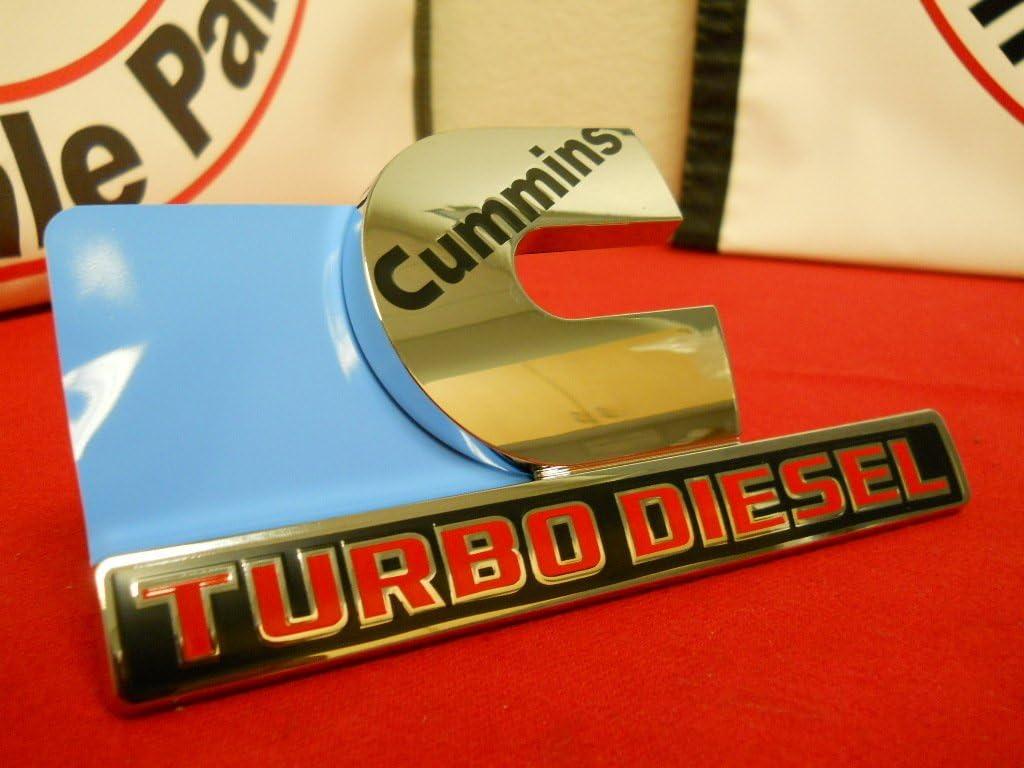 4PCS SET:Chrome Dodge RAM 2500 HEMI 5.7 Emblem Badge 3D LOGO LETTERS NAMEPLATE
