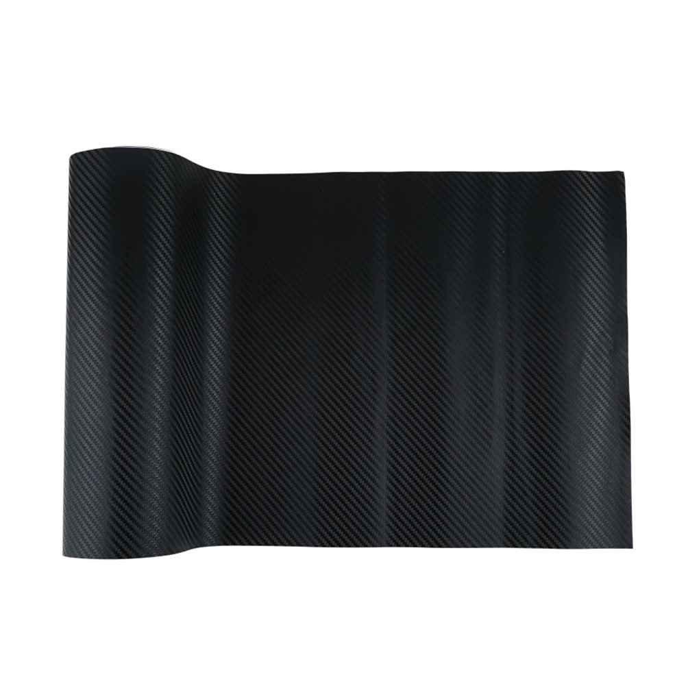Demino Auto Nera in Fibra di Carbonio Vinile Covers Auto Wrap in Fibra di Carbonio Carbon Vehicle Sticker Wrap Rotolo Adesivo