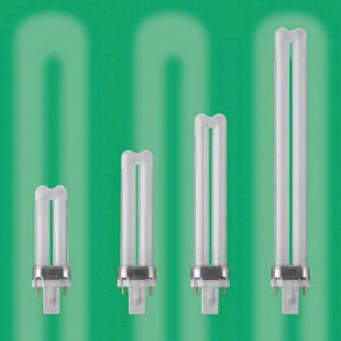 BELL 9W CFL 2 PIN G23 BLS 827 WARM WHITE COMPACT FLUORESCENT LIGHT BULB LAMP