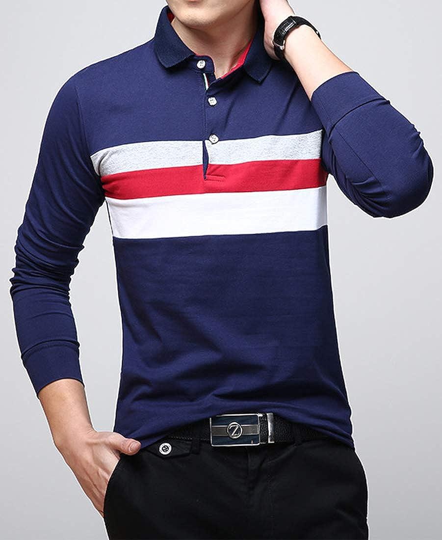 Frtcv Mens Polo Shirt Casual Slim Fit Polo T Shirts At Amazon Mens