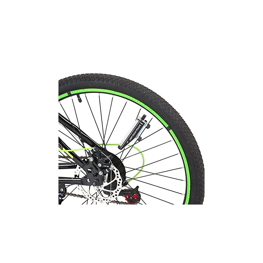 Lixada Ultra Bright 14 LED Bike Wheel Light USB Rechargeable Spoke Light Cycling Bike Signal Lamp Wheel Tire Spoke Light 28 Change Patterns