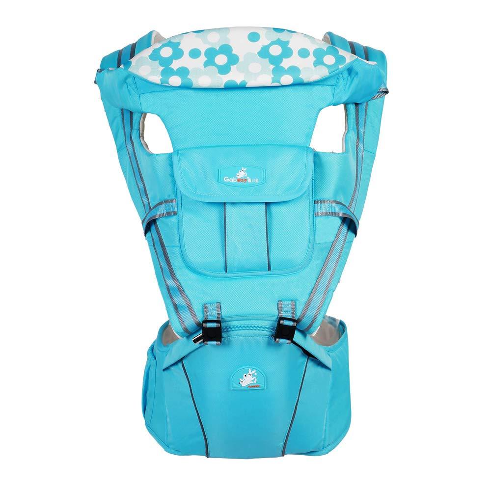 Zhanghaidong Marsupio Traspirante Carry Ways Con Sedile Rimovibile   ¬ Marsupio Infant Comfort Marsupio Per Bambini Sgabello Anteriore Posteriore Carrier Belt Carling Sling