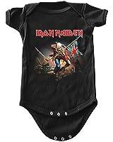 Iron Maiden The Trooper Bebé Romper Camiseta
