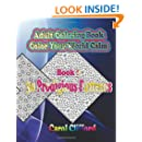Book 2 - 30 Prodigious Patterns: Color Your World Calm (Adult Coloring Book) (Volume 2)