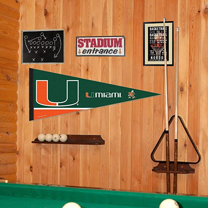 University of Miami Pool Table Cover w// Hurricanes Logo
