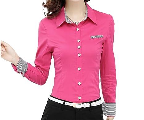 Camicia Donna Basic WSLCN Maniche Lunghe