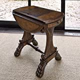 Ambella Home Collections 03035-930-002 Drop Leaf Game Table