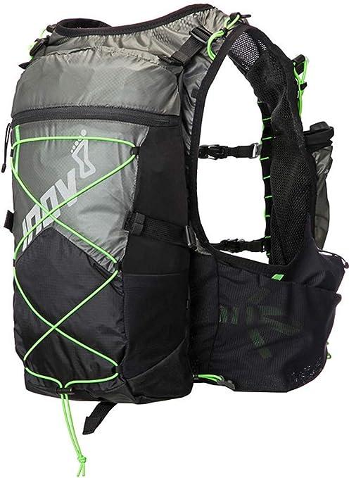 Black Inov8 Race Ultra Pro 2 In 1 Vest Backpack