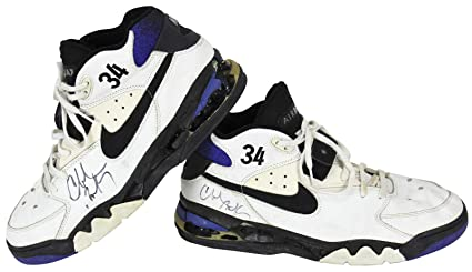 8d74347da94d Suns Charles Barkley Signed Game Used Nike Air Force Max Shoes  Z73919 -  JSA Certified
