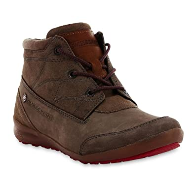 Image Unavailable. Image not available for. Color  Swissbrand Women s  Ricarda Gray Leather Hiking Boot(Size 5) 4d19506ebc
