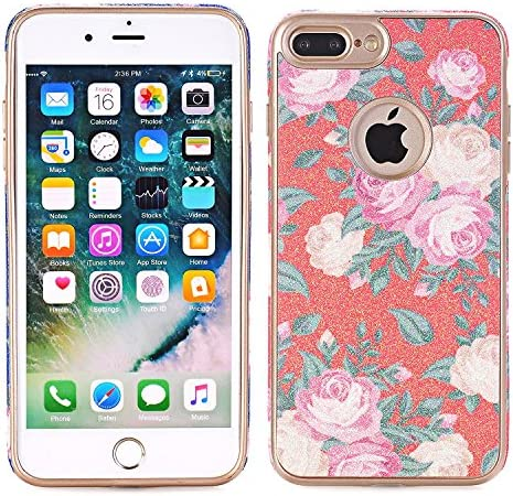 Apple iPhone 7 Phone Cover,EFUS Flower Pattern Soft Cover Shell Phone Skin Slim Fit Screen Protective Anti-Scratch Resistant Smart Case for Apple iPhone 7 4.7 inch (iPhone 7, A03)