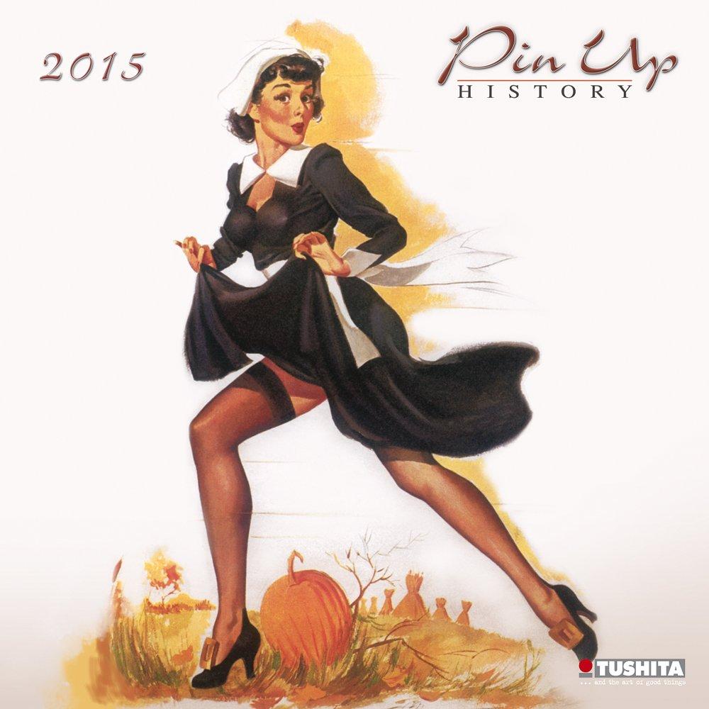 Pin Up Histroy 2015 (Media Illustration)