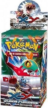 Pokémon Juego de cartas. Puños Furiosos (Caja 18 sobres) [Juguete]: Amazon.es: Juguetes y juegos