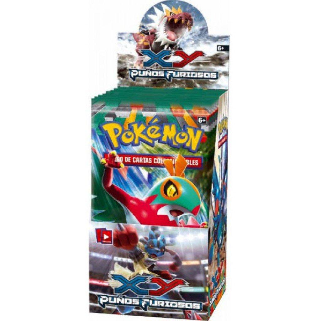 Pokémon Juego de cartas. Puños Furiosos (Caja 18 sobres ...