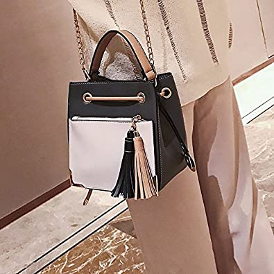 HYP Handmade Leather Tote Bag Travel Bag/&Computer Bag For Women Ladies Handbags Square Bevel Handbag Bag.