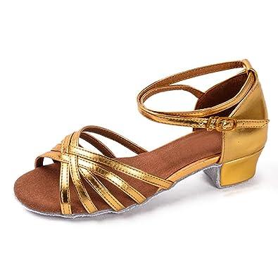 YFF Tanz Boot Mädchen Frauen tanzen Schuhe, A, 3.