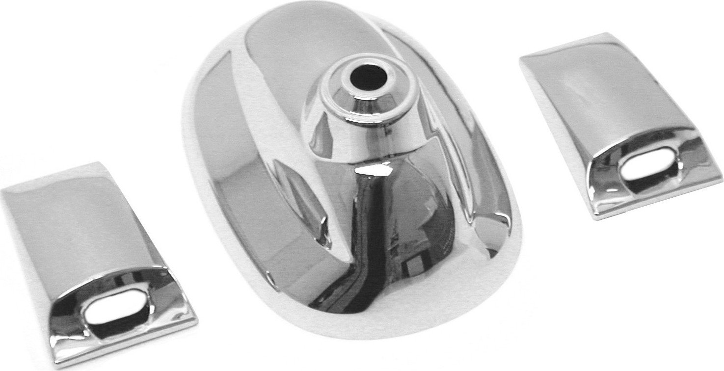URO Parts 971061 Chrome Antenna Base//Washer Cover